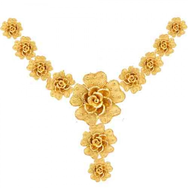 necklace gold 30.0 gms